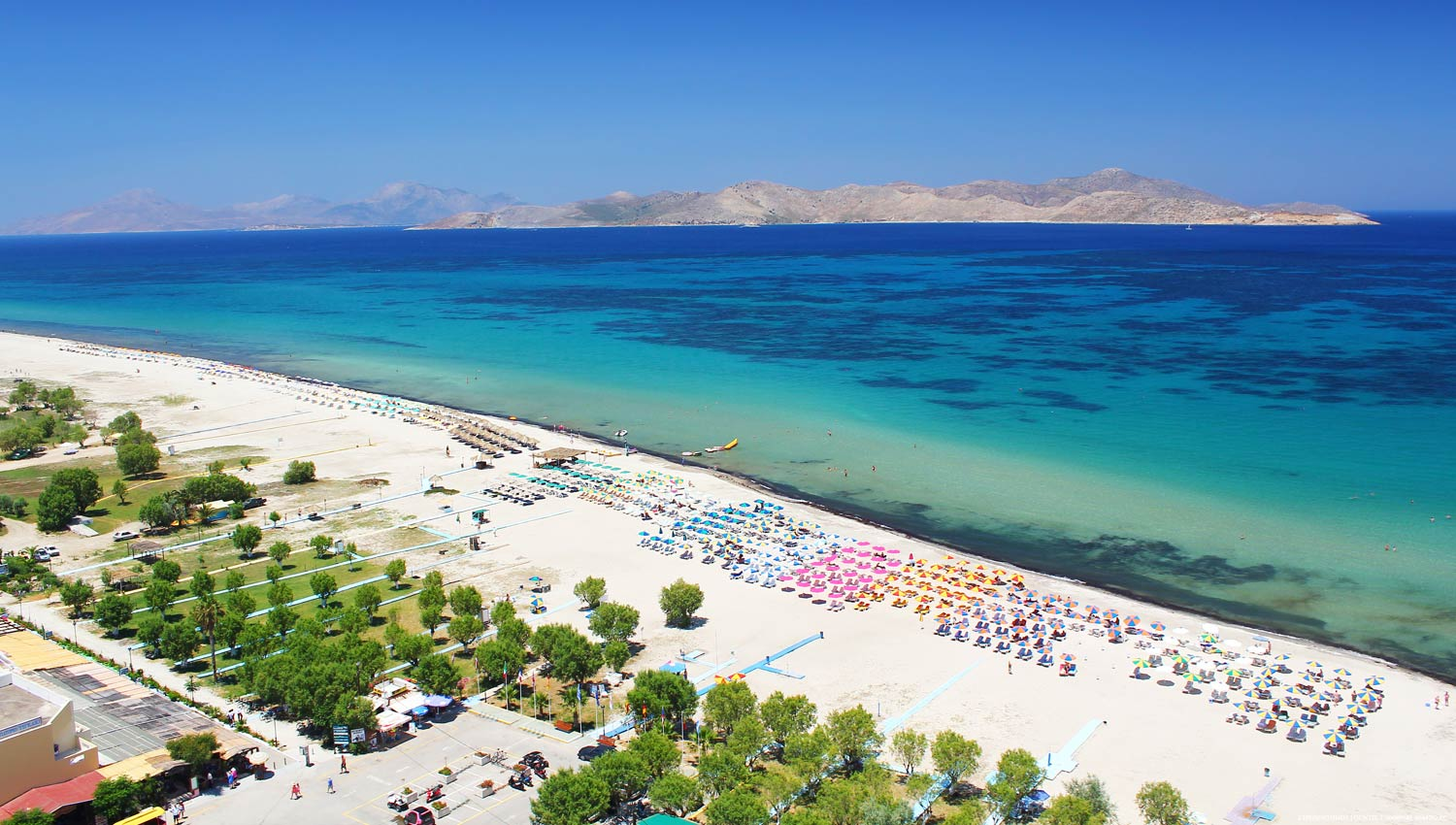 Tigaki Beach Hotel location in Tigaki Kos island - Tigaki Kos Greece ...